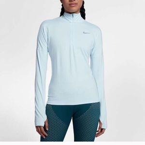 Nike Element Half-zip Running Jacket Sz M  B12